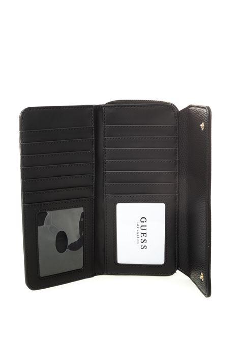 Guess portafoglio becca nero GUESS | Portafogli | VG7742620BECCA-BLA