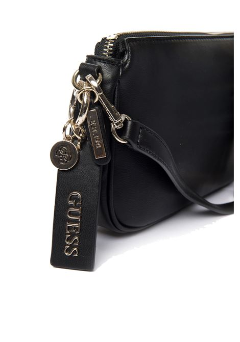 Tracolla arie double nero GUESS | Borse mini | VG7885700ARIE DOUBLE-BLA