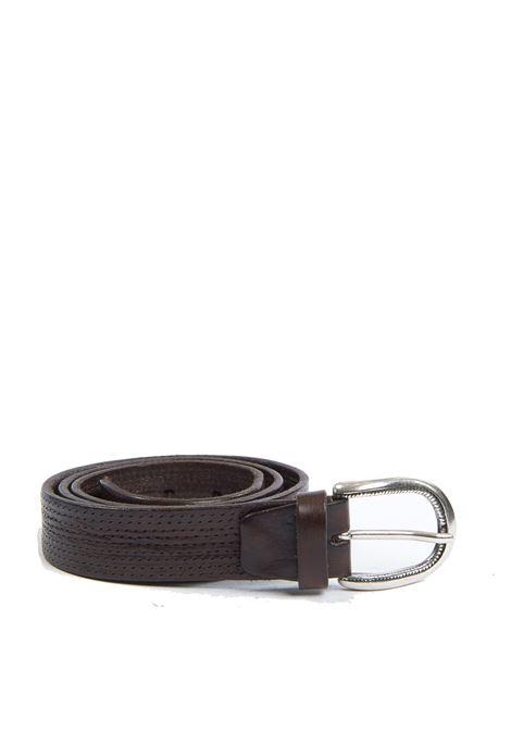 Cintura micro moro ITALIAN BELTS | Cinture | 502/30VIT-T.MORO