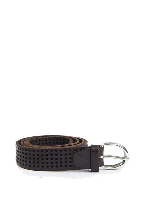 Cintura forata moro ITALIAN BELTS | Cintura | 605/30VIT-T.MORO