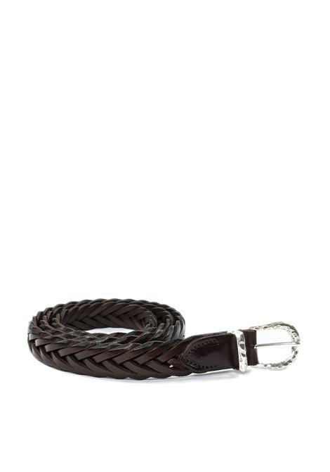 Cintura treccia moro ITALIAN BELTS | Cinture | TRECCIA/025VIT-T.MORO