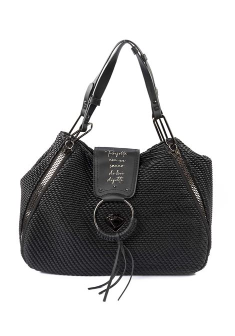 Borsa vicky quilted nero LE PANDORINE | Borse a spalla | 2591VICKY QUILTED-10