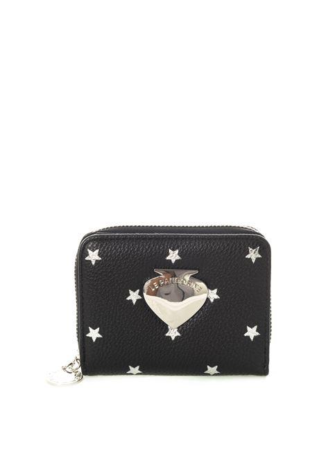 Le Pandorine portafoglio vicky stelle nero LE PANDORINE | Portafogli | 2596VICKY WALLET-03