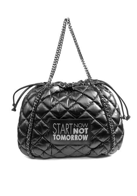 Le Pandorine borse kitty nero LE PANDORINE | Borse a spalla | 2604KITTY BAG-05