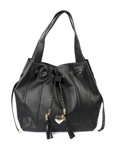 Shopping helena nero LE PANDORINE | Borse a spalla | 2612HELENA BAG-01