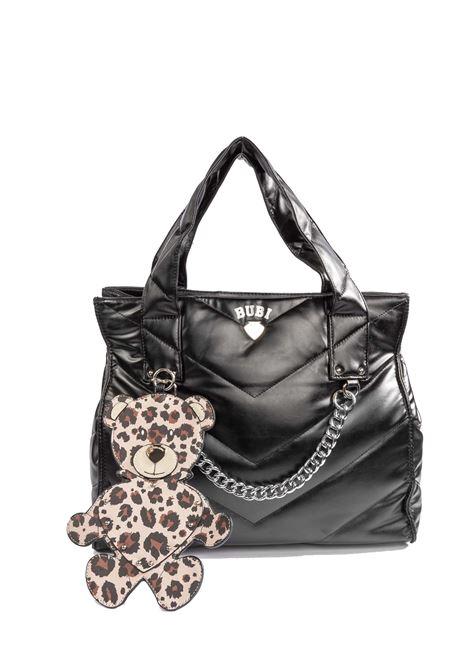 Shopping bubi leopard LE PANDORINE | Borse a spalla | 2756BUBI BAG-01