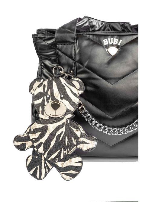 Shopping bubi zebra LE PANDORINE | Borse a spalla | 2756BUBI BAG-03