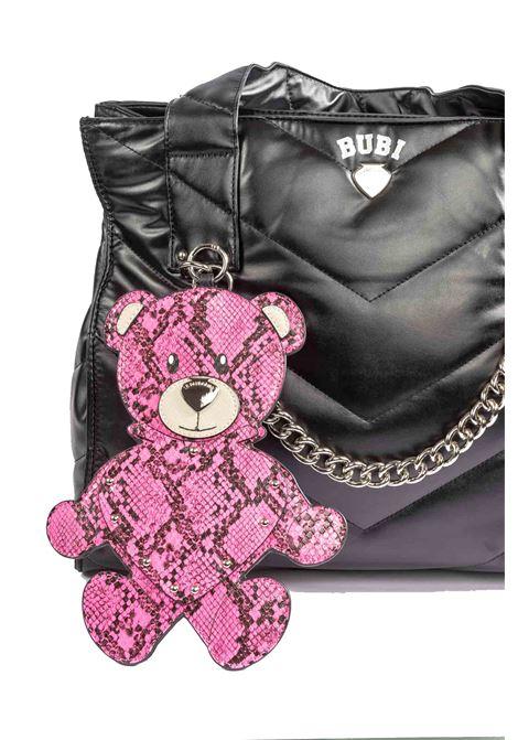 Shopping bubi snake pink LE PANDORINE | Borse a spalla | 2756BUBI BAG-04