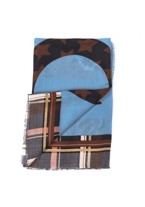 Liu jo sciarpa mix blu LIU JO | Sciarpe | 2F0099T0300MIX PRINT-74023