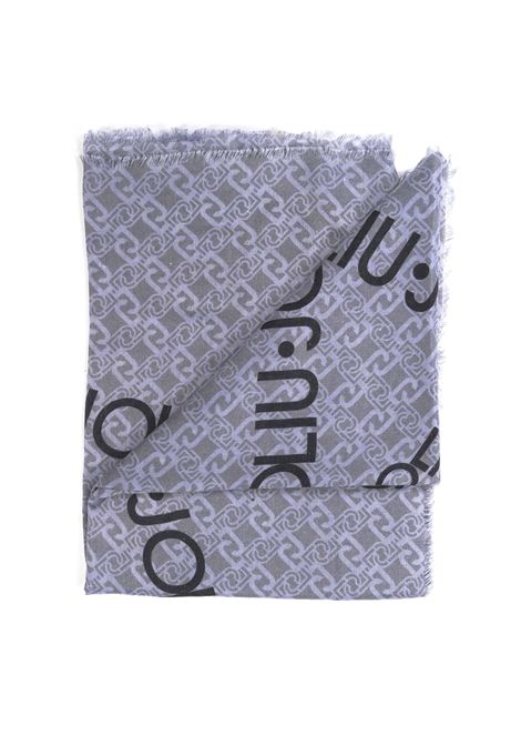 Foulard logo stella rosso LIU JO | Foulards | 3F0022T0300LOGO STELLA-73907