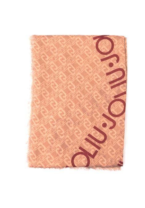 Foulard logo stella cipria LIU JO | Foulards | 3F0022T0300LOGO STELLA-90088