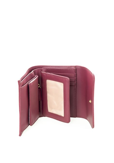 Portafoglio mini gioiello bordeaux LIU JO | Portafogli | AF0011E0086PELLE-91940
