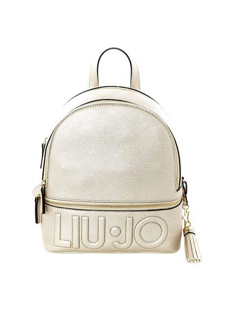 Zaino Logo platino LIU JO | Zaini | AF0211E0086LOGO-90048