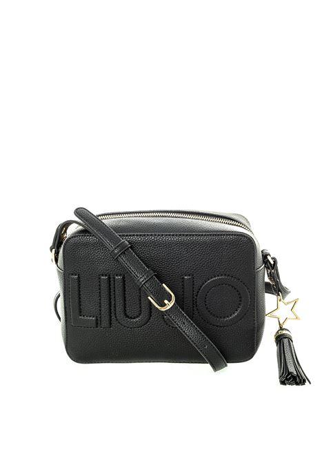 Liu Jo tracolla logo nero LIU JO | Borse mini | AF0212E0086LOGO-22222