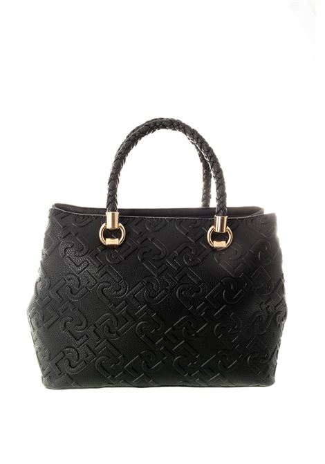 Shopping manhattan nero LIU JO | Borse a mano | NF0022E0538MANHATTAN-22222