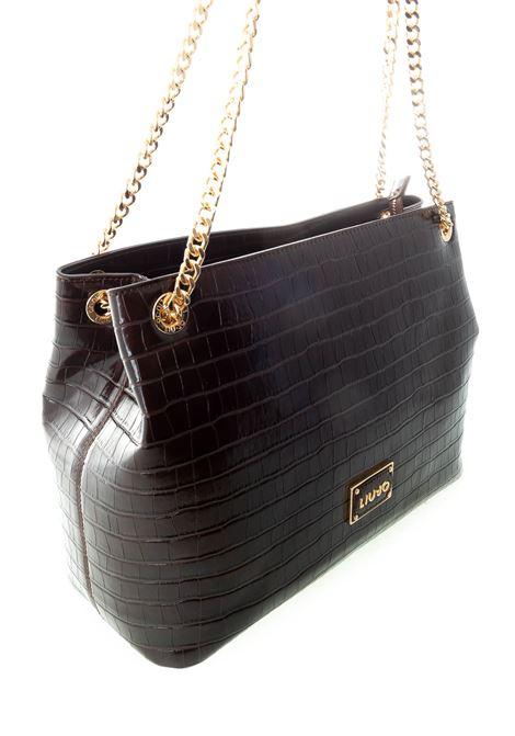 Shopping natural marrone LIU JO | Borse a spalla | NF0072E0084NATURAL-91118