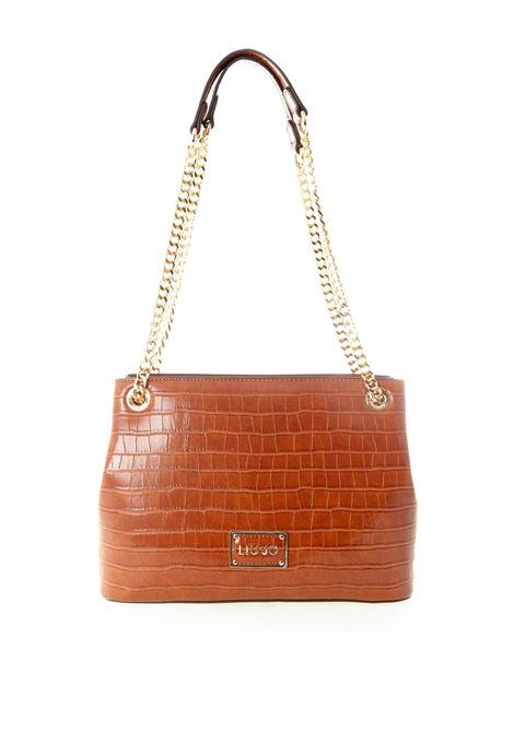 Shopping natural m cuoio LIU JO | Borse a spalla | NF0073E0084NATURAL-81343