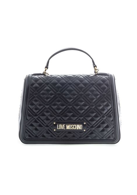 Love moschino borsa new shiny quilted nero LOVE MOSCHINO | Borse a mano | 4009QUILTED-000