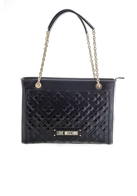 Love moschino shopping new shiny quilted nero LOVE MOSCHINO | Borse a spalla | 4010QUILTED-000