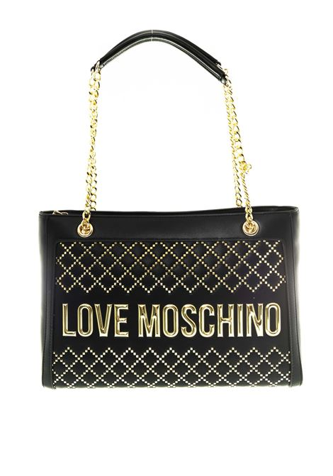 Love Moschino shopping woven nero LOVE MOSCHINO   Borse a spalla   4055QUILTED-000