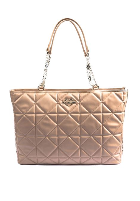 Love Moschino Shopping trapuntata beige LOVE MOSCHINO | Borse a spalla | 4214QUILTED-209
