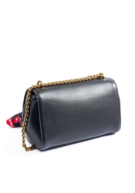 Love Moschino tracolla logo nero LOVE MOSCHINO | Borse mini | 4236PELLE-000