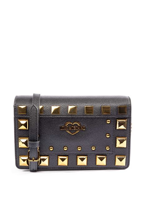 Love Moschino tracolla ecopelle borchie nero LOVE MOSCHINO | Borse mini | 4283PELLE-000