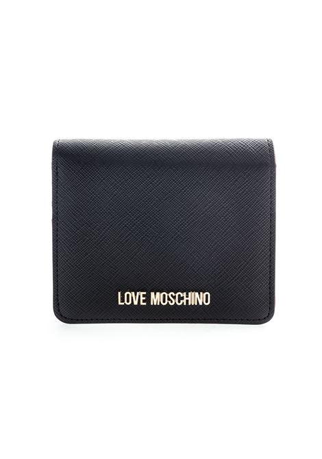 Love Moschino portafoglio mini nero LOVE MOSCHINO | Portafogli | 5562PELLE-000