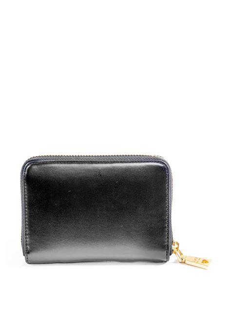 Love Moschino portafoglio zip logo nero LOVE MOSCHINO | Portafogli | 5648PELLE-000