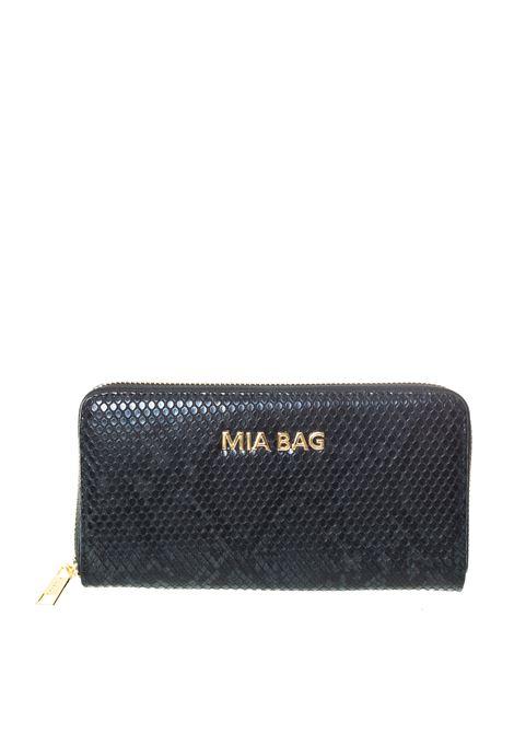 Mia bag portafoglio pitone nero MIA BAG | Portafogli | 413PYTHON-NERO