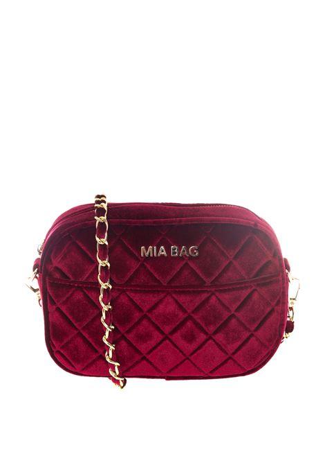 Mia Bag tracolla mini velluto bordeaux MIA BAG   Borse mini   420VELVET-BORDEAUX