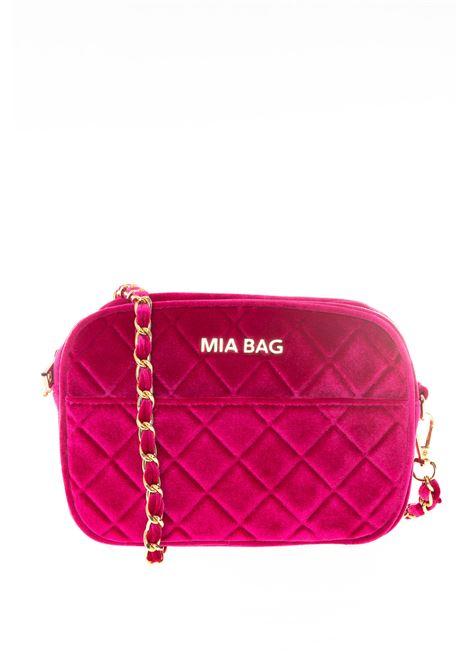 Mia Bag tracolla mini velluto fuxia MIA BAG   Borse mini   420VELVET-FUXIA
