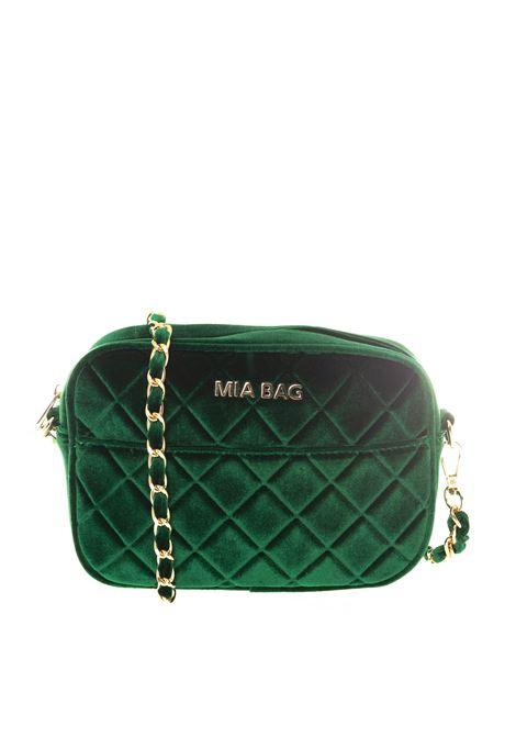 Mia Bag tracolla mini velluto verde MIA BAG   Borse mini   420VELVET-VERDE