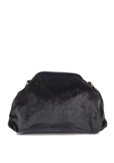 Borsa velluto nero MIA BAG | Borse mini | 523VELLUTO-NERO