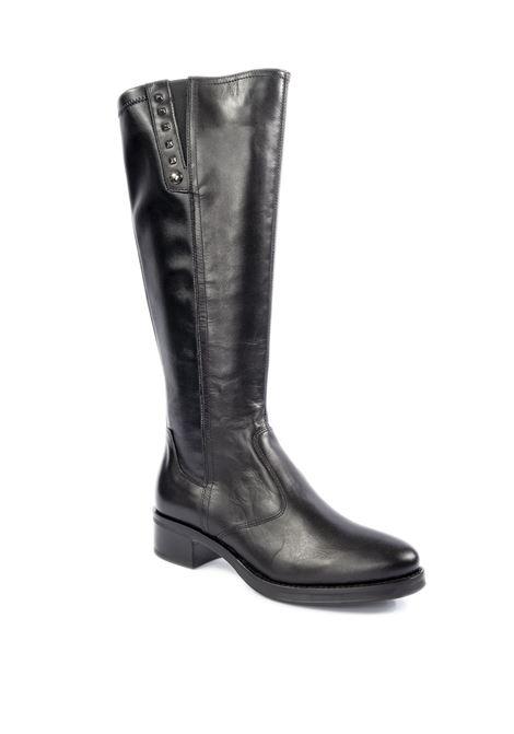 Stivale vitello nero NERO GIARDINI | Stivali | 014074VITELLO-100