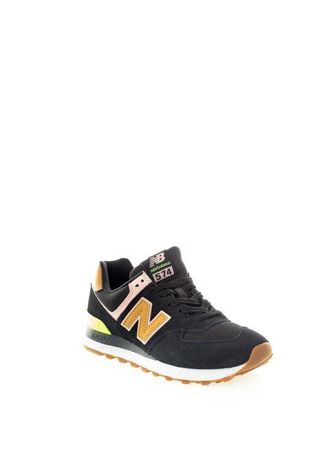 New balance 574 nero multicolor NEW BALANCE | Sneakers | 574ATB