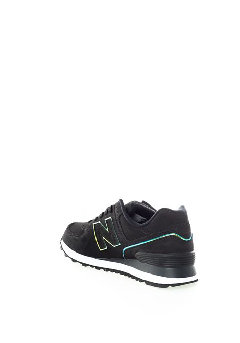 New balance 574 pigskin nero NEW BALANCE | Sneakers | 574CLG