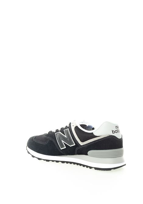 New balance 574 nero/bianco NEW BALANCE | Sneakers | 574EGK