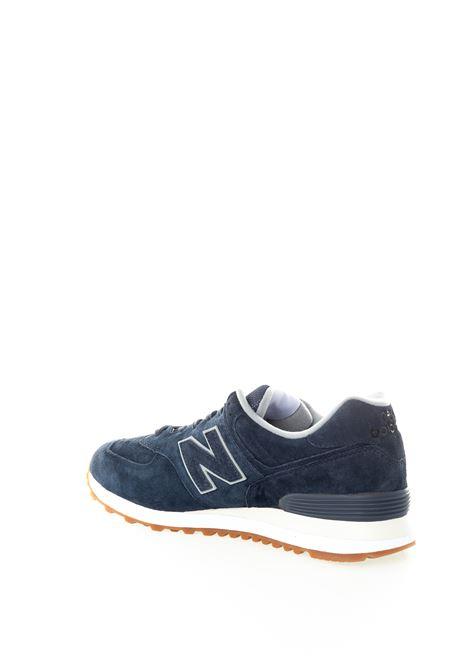 New balance 574 pigskin blu NEW BALANCE | Sneakers | 574EMA