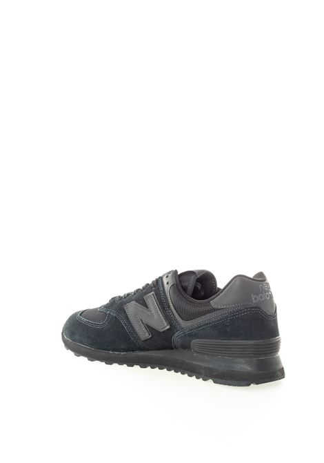 New balance 574 total black NEW BALANCE | Sneakers | 574ETE