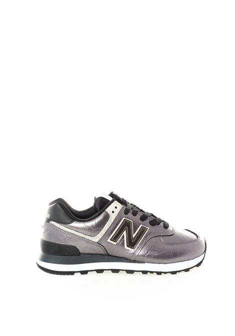 New balance 574 metal silver NEW BALANCE | Sneakers | 574WNF