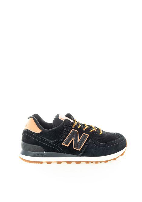 New balance 574 nero/rosa NEW BALANCE | Sneakers | 574XAB