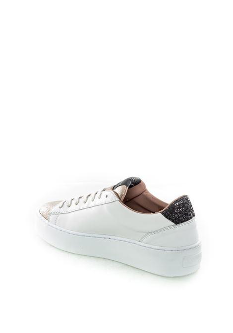 Nira rubens cosmopolitan bianco/oro NIRA RUBENS | Sneakers | COSMPOLITANCOST138-SHINE GOLD