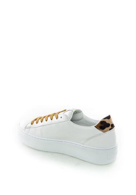 Nira rubens cosmopolitan bianco/leopard NIRA RUBENS | Sneakers | COSMPOLITANCOST139-GOLD GLITTER
