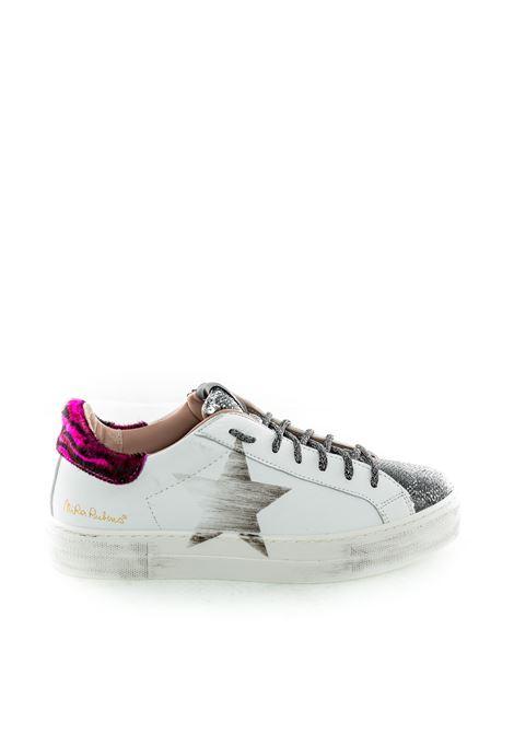 Nira rubens sneaker martini bianco/fucsia NIRA RUBENS | Sneakers | MARTININIST97-PINK LEOP