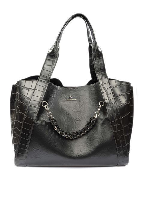 Shopping kendall nero PASH BAG | Borse a spalla | 10234KENDALL-NERO