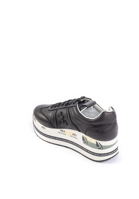 Premiata sneaker beth nero PREMIATA | Sneakers | BETHPELLE-4039