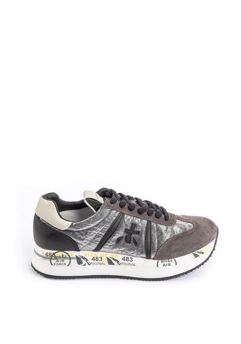 Premiata sneaker conny velluto grigio PREMIATA | Sneakers | CONNYCAM/TES-1493