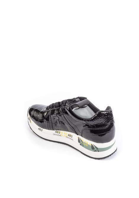 Premiata sneaker conny vernice nero PREMIATA | Sneakers | CONNYNAPLAK-4817