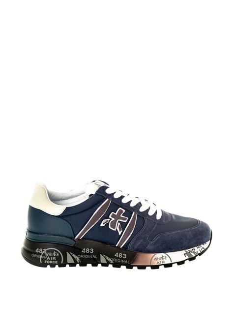 Premiata sneaker lander blu PREMIATA | Sneakers | LANDERCAM/TES-3247